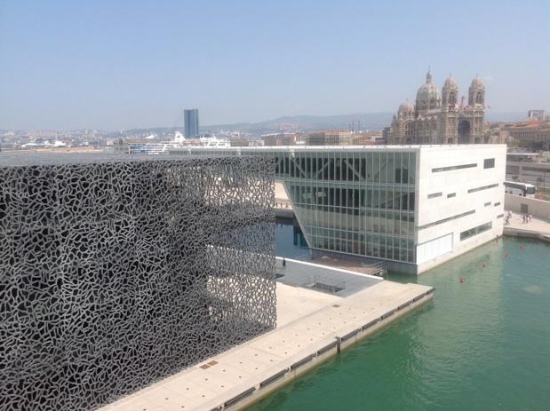 Le Mucem, à Marseille, est l'un des musées les plus visités en France - Photo J.D.L.
