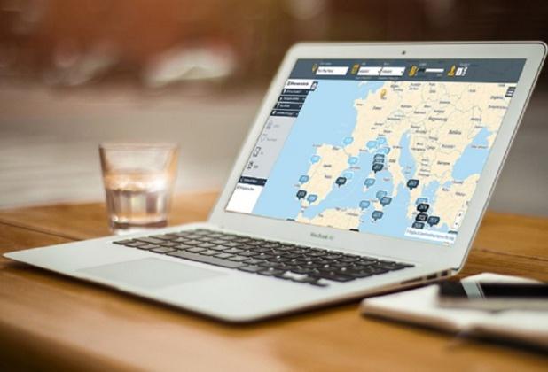 Lancée en février 2015, Grapy est une plateforme web permettant de trouver une destination de voyage en fonction de son budget (c) Grapy