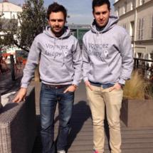 Maxime Cohendet et Benoit Mouret, fondateurs de Grapy ©Grapy