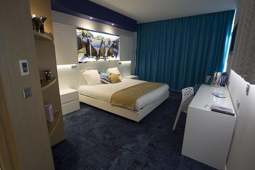 Marineland Resort compte 95 chambres - DR : Marineland