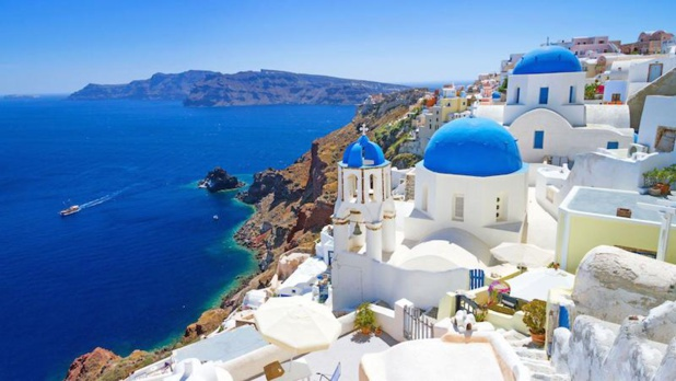 The touristic sites of Greece should stay filled up this summer. DR