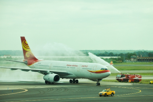 Hainan Airlines a inauguré son vol direct entre Chongqing et Rome