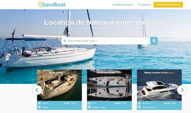 Samboat vient de finaliser une levée de fonds de 250 000 euros © SamBoat