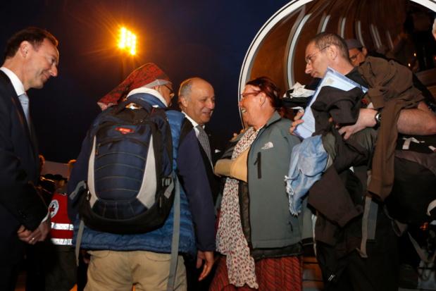 Les premiers Français sont arrivés à Roissy - DR : Photo MAEDI/F. de la Mure