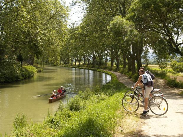 Le canal du Midi, un classique - Photo : Archives Chamina