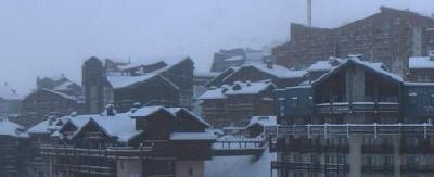 Vue de Val Thorens de la webcam jeudi matin