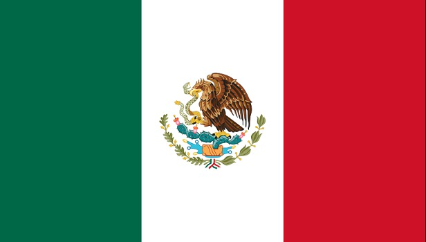 Drapeau du Mexique : DR : Wikipedia