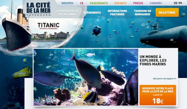 La Cité de la Mer a séduit 3 millions de visiteurs en 13 ans - DR : Capture d'écran Cité de la Mer