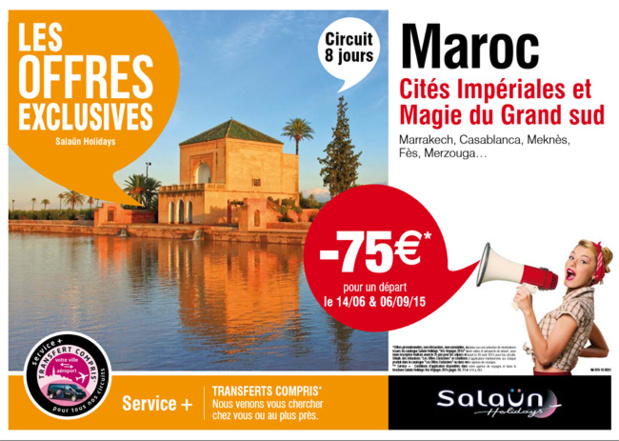 "Salaün Holidays publie ses ""Offres Exclusives"""