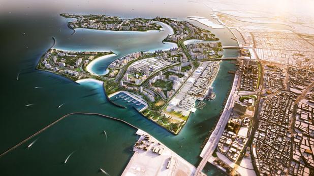 Le projet Palm Deira, à Dubaï.  - Photo DR