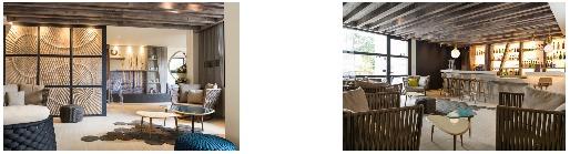 Les travaux ont permis de rénover les 94 chambres de l'hôtel, son hall et ses salles de réception - DR : Thalazur