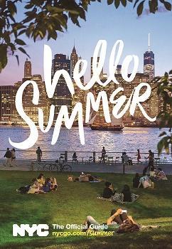 Visuel de la campagne Hello Summer de NYC & Company - DR : NYC & Company