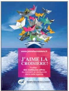 """Visuel de l'opération """"J'aime la Croisière !"""" - DR : CLIA France"""