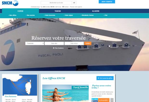 Les réseaux de distribution attendent la décision du tribunal de commerce de Marseille, ce lundi, pour définir leur politique de vente vis-à-vis de la SNCM - DR : Capture d'écran SNCM
