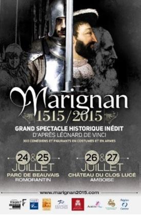 Marignan 1515 : grand spectacle historique à Amboise et à Romorantin-Lanthenay