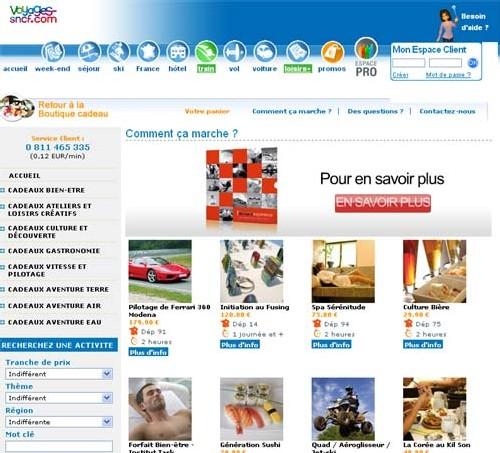 Voyages-sncf.com lance ses coffrets cadeaux