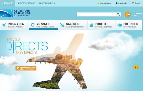 Le trafic de l'aéroport de Toulouse-Blagnac a subi les effets de la grève des contrôleurs ariens en avril 2015 - Capture d'écran
