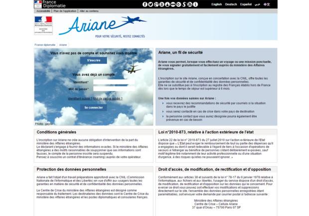 """Le """"réflexe Ariane"""" se présente comme un conseil qui peut s'avérer très utile, comme nous venons de le vivre avec la catastrophe du Népal et surtout, un excellent moyen pour les agences d'améliorer leur marge bénéficiaire - DR : Capture d'écran Ariane"""