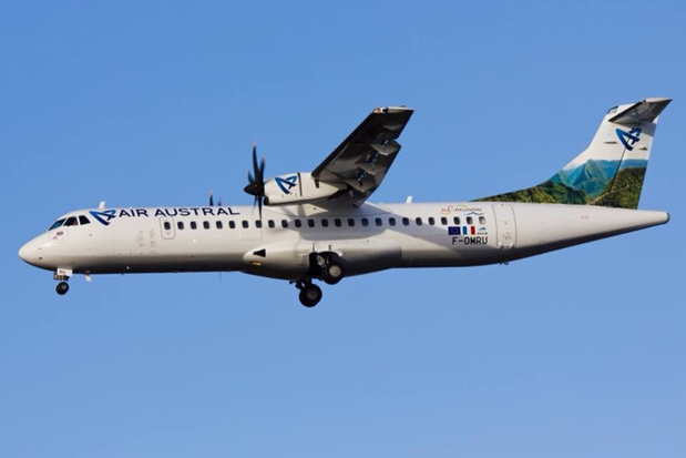 La ligne saisonnière sera opérée en ATR 72-500, à raison de 2 vols par semaine, les vendredis et les dimanches - DR : Air Austral
