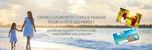 Thomas Cook lance un chèque cadeau pour la Fête des Mères