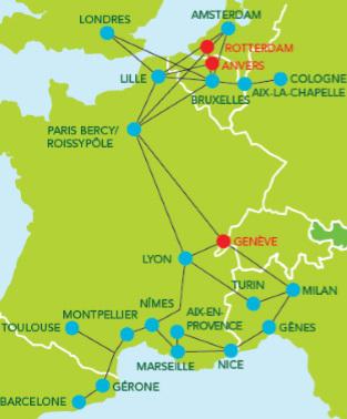 iDBUS ouvre Genève au départ de Paris, Marseille et Nice
