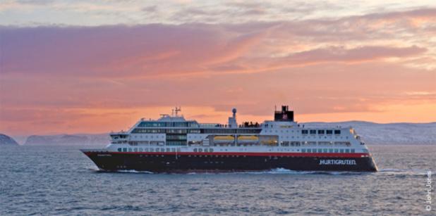 Le MS Midnatsol ne subira que quelques petits ajustements avant de mettre le cap vers l'Antarctique - DR : Hurtigruten