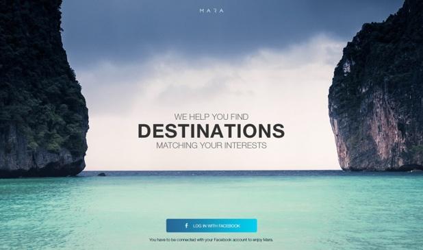 Sépage va sortir une application grand public qui recommandera des destinations en fonction des intérêts d'une personne. ©Sépage