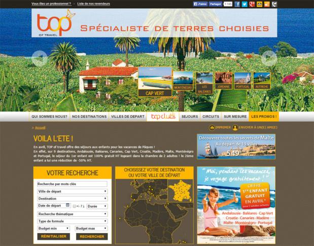 TOP of travel propose des tarifs spéciaux pour les agents de voyages en mai/juin 2015