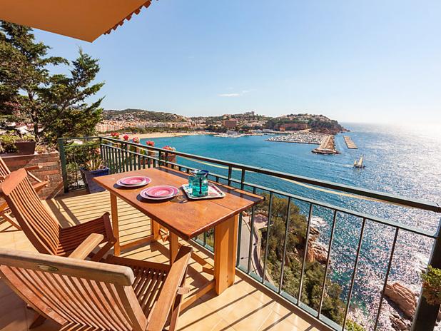 Un appartement 2 étoiles Interhome  sur la Costa Brava en Espagne : 6 personnes, 4 pièces, 3 chambres - DR : Interhome