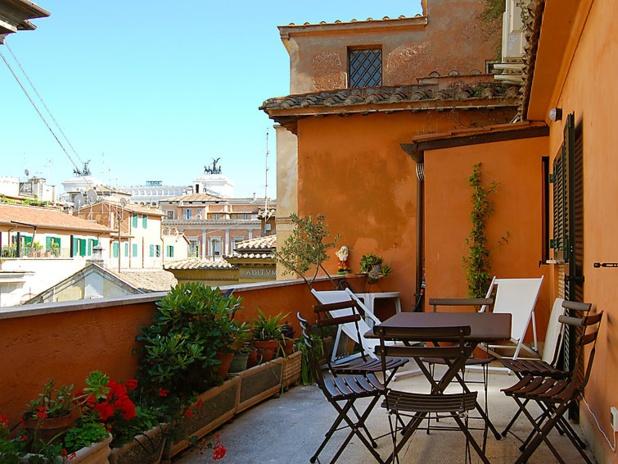 Un appartement 3 étoiles Interhome dans le centre historique de Rome. 5 personnes , 3 pièces, 2 chambres - DR : Interhome