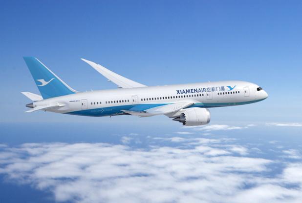 Le vol Amsterdam - Xiamen sera opéré par Xiamen Air en Dreamliner Boeing 787 - DR : Xiamen Air