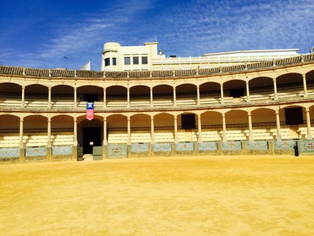 L'arène de Ronda,  construite en 1785 dans un style néoclassique et considérée comme un véritable chef d'oeuvre... /photo JDL
