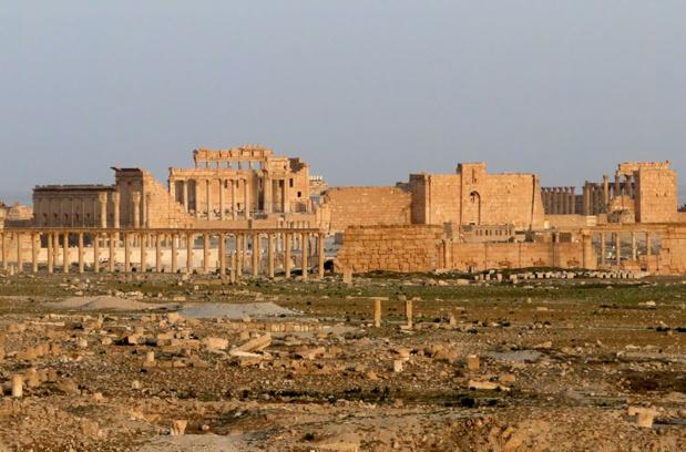 Temple de Bel, Palmyre - DR : Bernard Gagnon - Wikimedia Commons