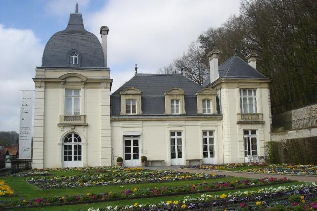 Château de l'Eglantine, cadre du musée, à Jouy-en-Josas - DR : M.S.