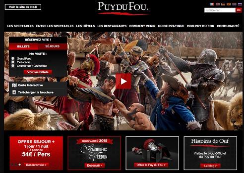 Le Puy du Fou continue d'innover pour ses spectacles - Capture d'écran