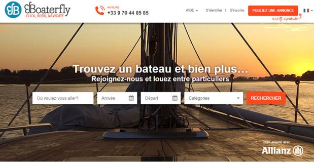 Boaterfly poursuit sa croissance en levant 500 000 euros - Capture d'écran