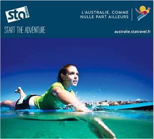 La campagne de Tourism Australia et STA Travel s'adresse aux jeunes voyageurs de 18 à 34 ans - DR : STA Travel