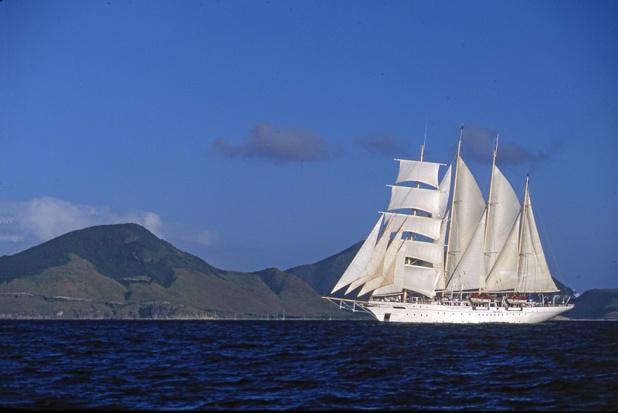 La flotte de Star Clippers est composée de 3 navire : Star Clipper, Star Flyer, et Royal Clipper - DR