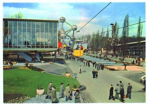 L'Atomium en 1958