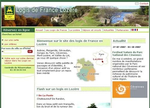 Logis de France de Lozère, l'avenir passe par Internet