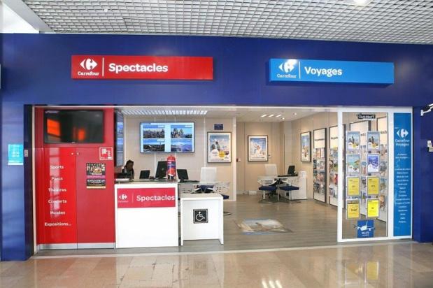 Avec 15 nouvelles agences intégrées ouvertes cette année, le groupe Carrefour comptera près de 125 points de vente en 2015. Ici, l'agence de Pontault-Combault - DR : Carrefour Voyages