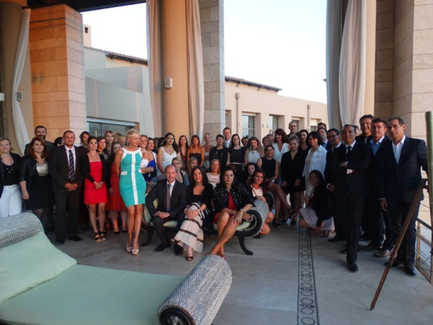113 agents de voyages ont participé au premier Formatour de Thalasso N°1 en Grèce - Photo J.B.H.