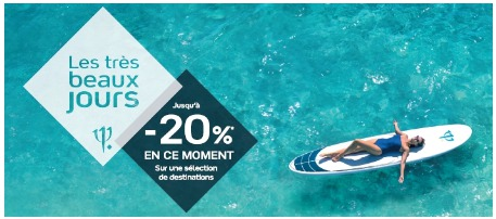 Les Très Beaux Jours : le Club Med offre -20 % jusqu'au 13 juin 2015