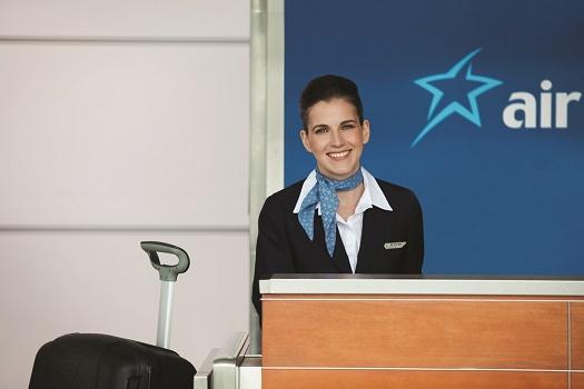 Les passagers d'Air Transat au départ de province peuvent désormais s'enregistrer en ligne - Photo Air Transat