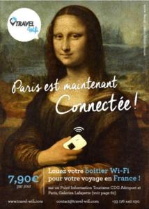 Travel Wifi : le CRT Paris Ile-de-France équipe les touristes avec le wifi de poche