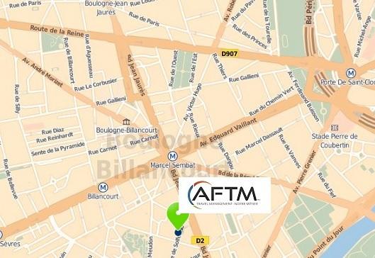 L'AFTM a déménagé