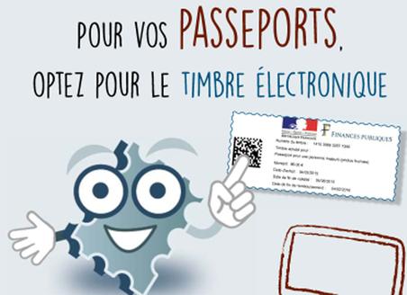 Passeport Acheter Le Timbre Fiscal En Ligne C Est Desormais