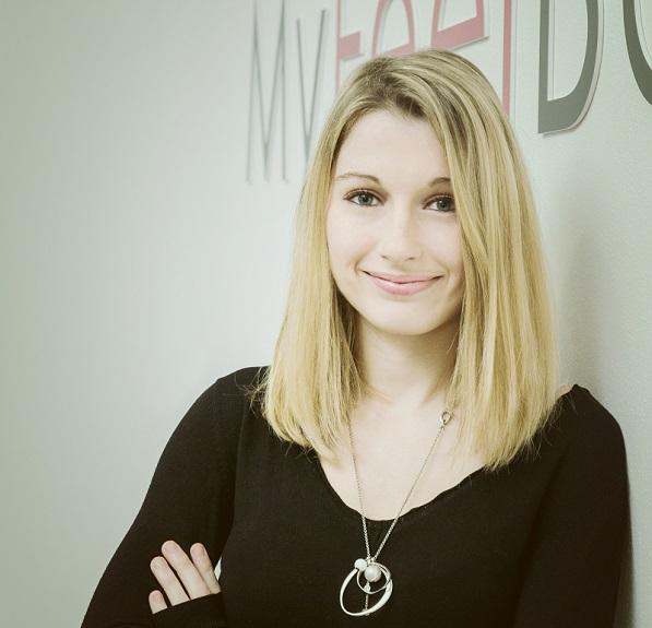 Aurore Beugniez, co-fondatrice e directrice commeciale de MyFeelBack