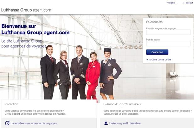 Les agents de voyages auront d'ailleurs un site qui leur sera attribué pour passer leurs réservations en direct : LHGroup-agent.com - DR : Lufthansa Group