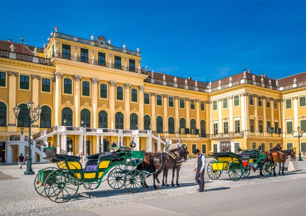 Le château de Schönbrunn, à Vienne est classé au patrimoine mondial de l'Unesco depuis 1996 - © pure-life-pictures - Fotolia.com